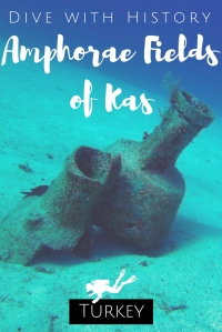Dive with History - Amphorae Fields of Kas - Scuba diving Turkey