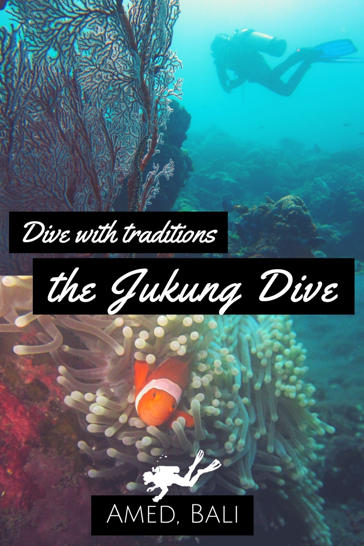 Dive with traditions - jukung dive amed Scuba diving Bali Indonesia