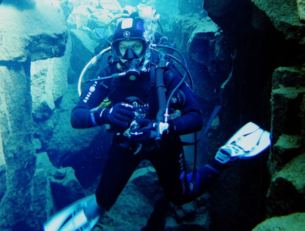 World Adventure DIvers in Silfra Iceland