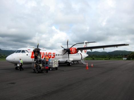arrival Labuan Bajo airport