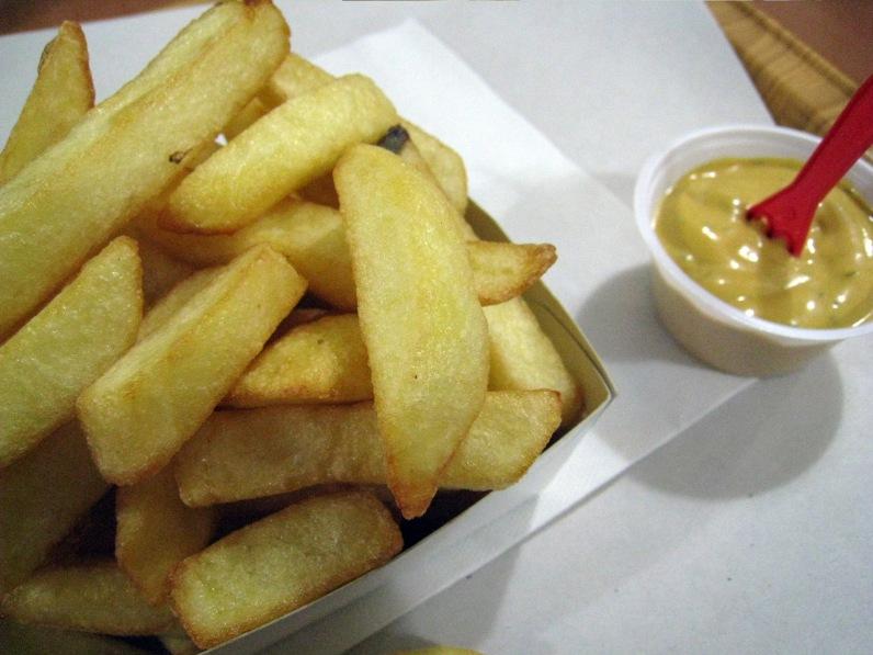 Belgian fries Brussels Belgium