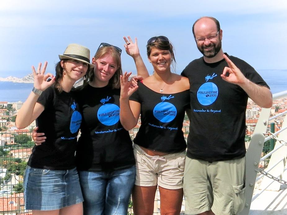 World Adventure DIvers in Marseille