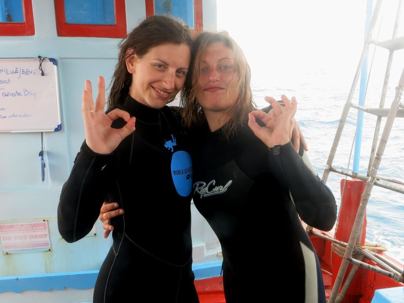 World Adventure Divers Divemaster in Koh Tao Thailand