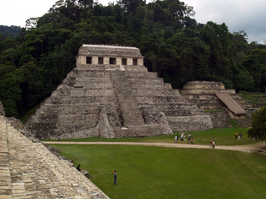 Palenque Mayan ruins Mexico