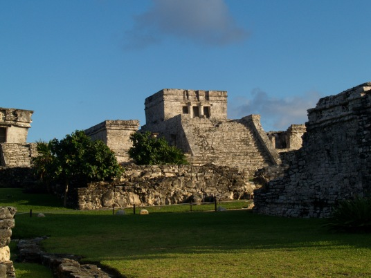 Tulum Maya ruins by the sea