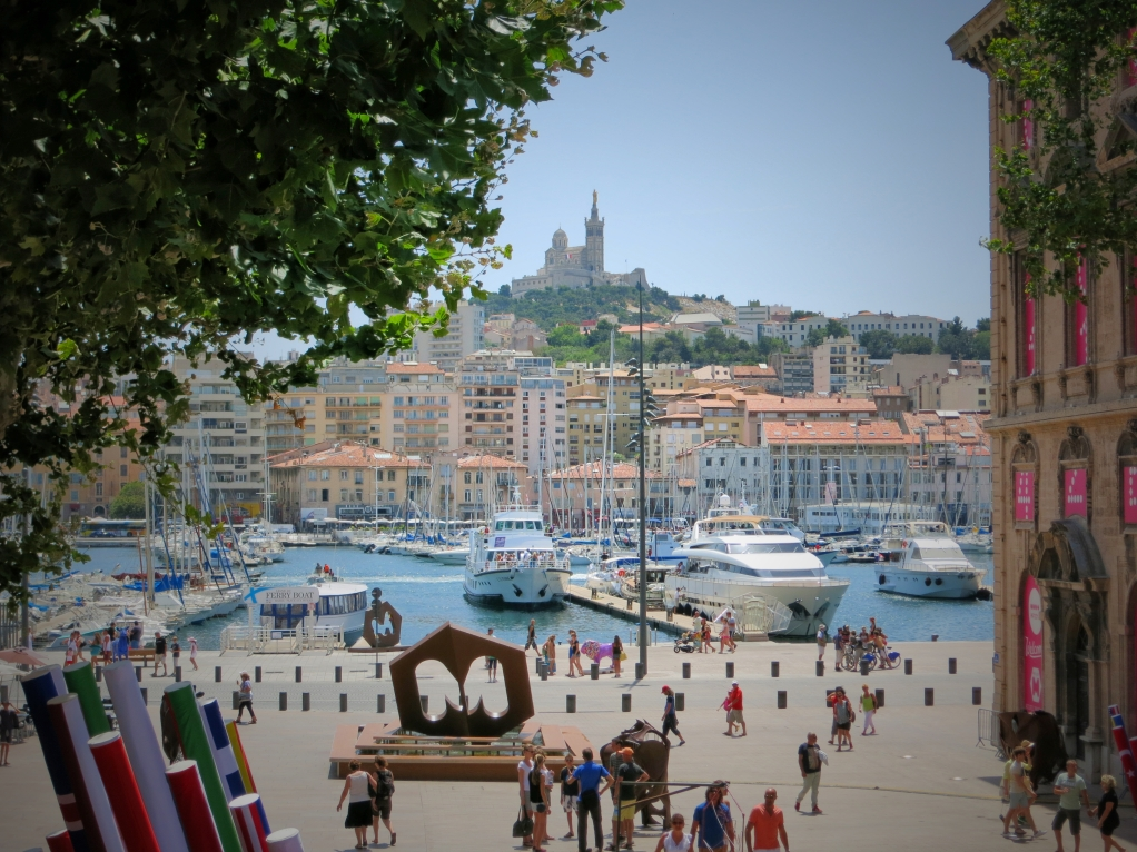 Old port Marseille European capital of the culture