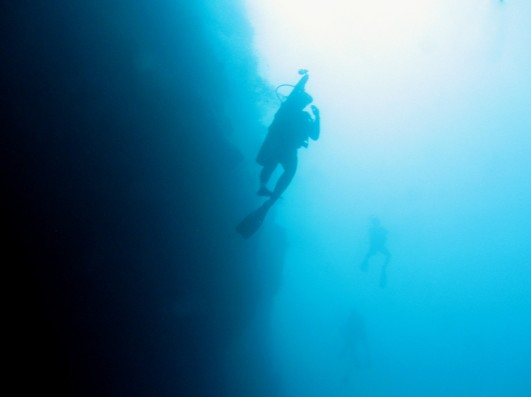 Scuba diving Great Blue Hole Belize
