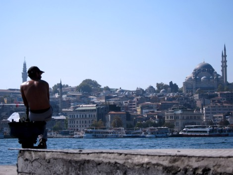 fisherman istanbul