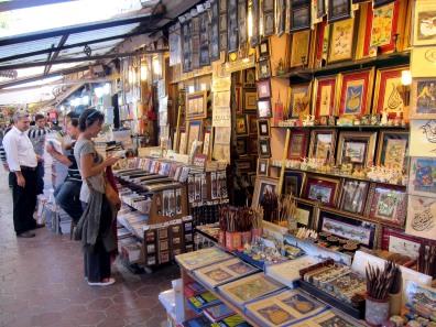 old book market