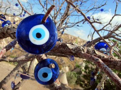the blue eye in Cappadocia