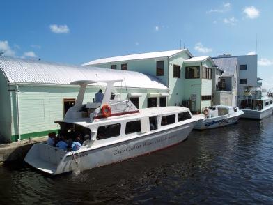 Speed boat Belize city Caye caulker