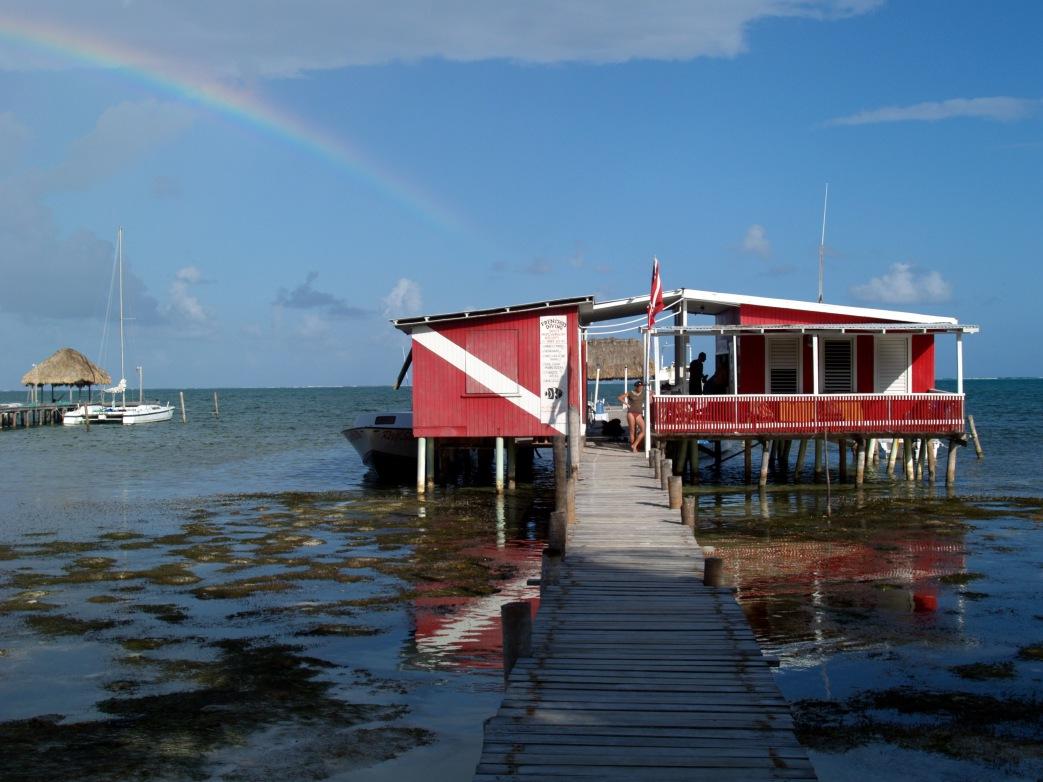 Scuba diving centre Caye Caulker Belize