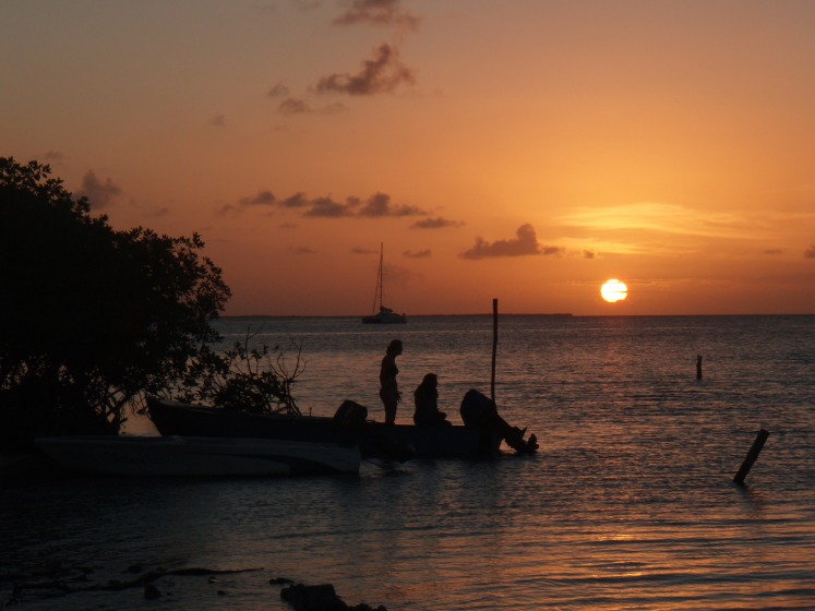 Sunset Caye Caulker Belize