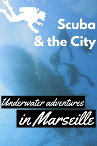 Scuba diving in Marseille France