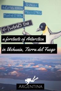 foretaste of Antarctica in Ushuaia Tierra del Fuego Argenti
