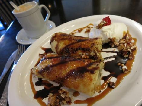 pancakes dulce de leche ushuaia Argentina