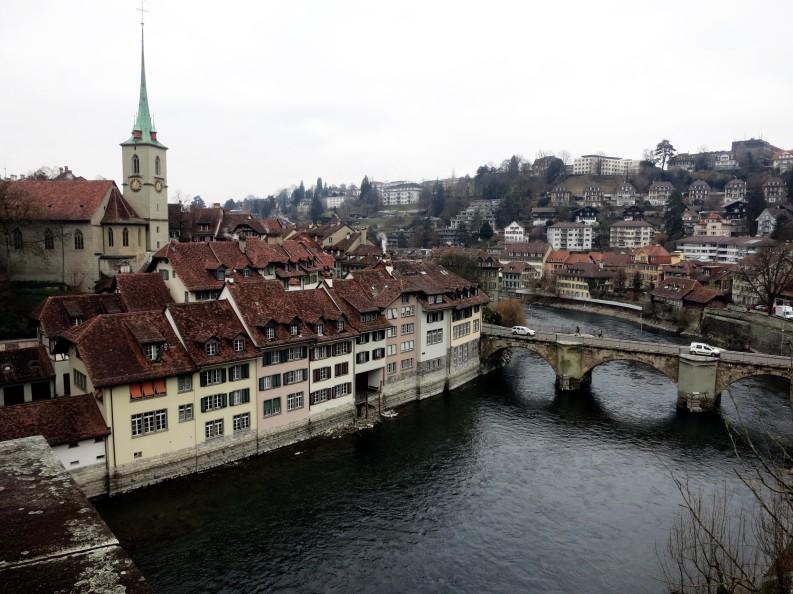 Bern along the river