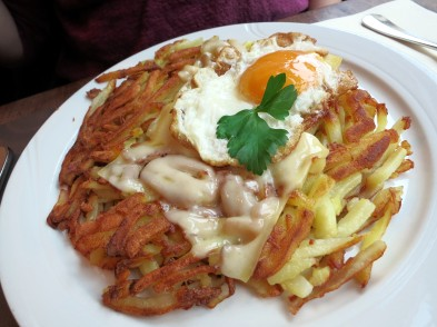 rösti is all you want for lunch