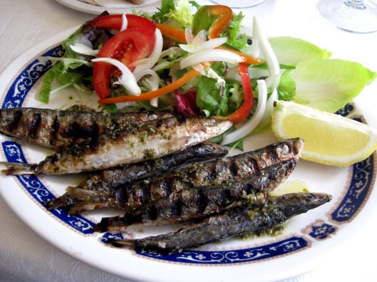 Grilled fish l'Estratit
