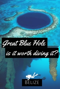 Great Blue Hole of Belize is it worth diving it