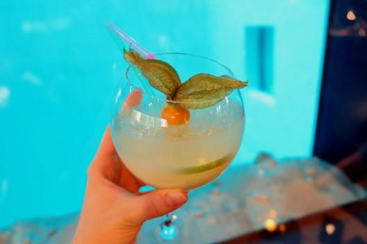 Aqua Lung cocktail Nemo 33 restaurant