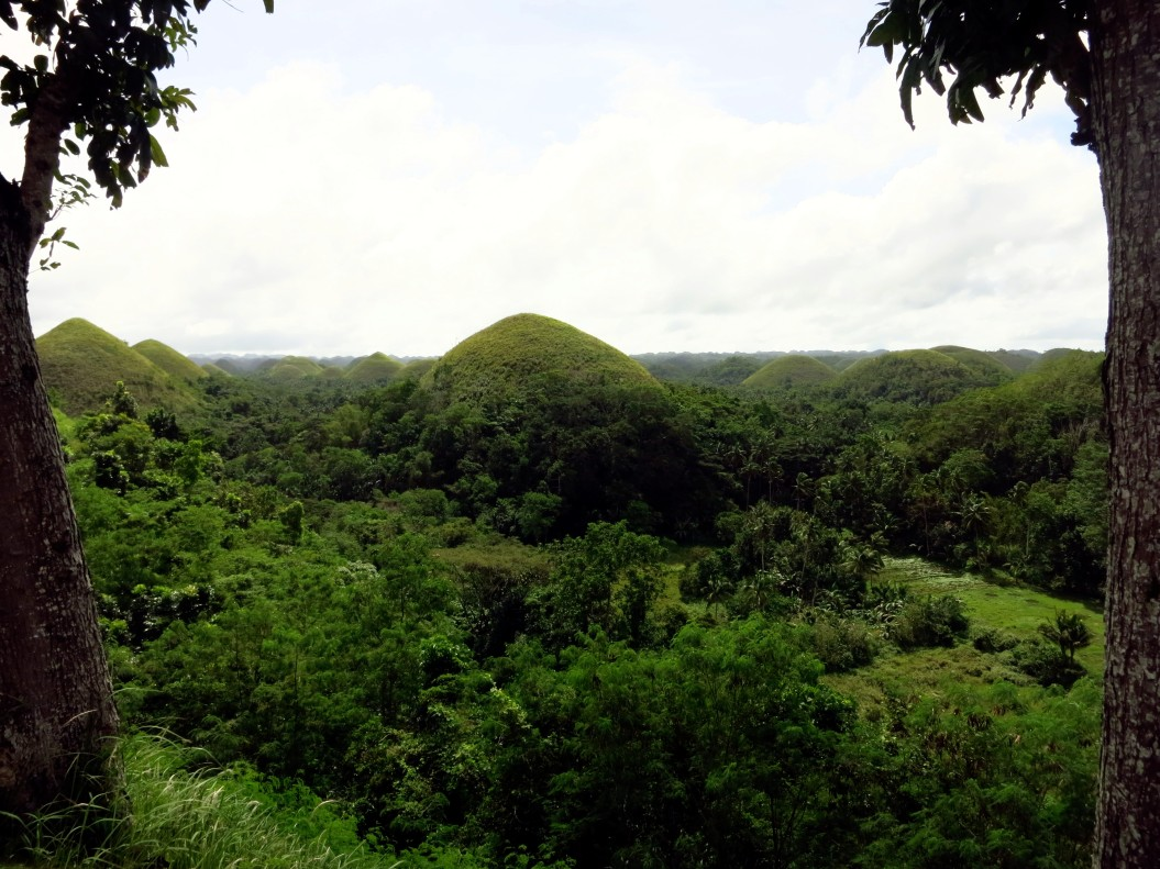 Bohol countryside Carmen Chocolate hills Philippines