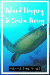 Island hopping and Scuba diving in the Visayas Philippines