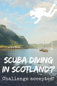 Scuba diving in Scotland? challenge accepted!