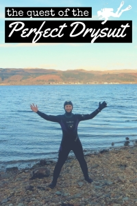 The quest of the perfect drysuit