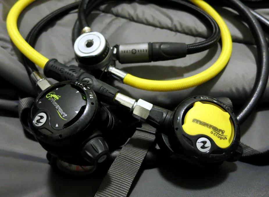 My traveler scuba diving regulator