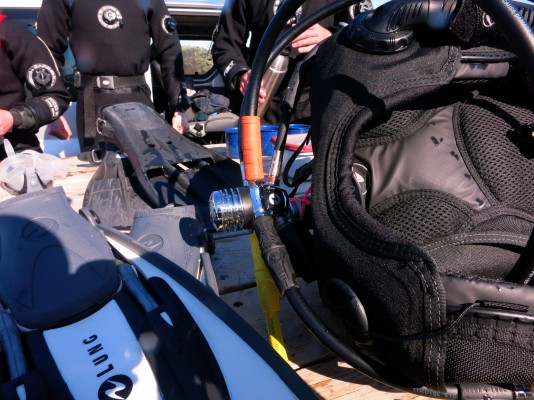 scuba diving equipment silfra Iceland