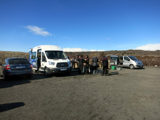 scuba diving dive.is silfra Iceland