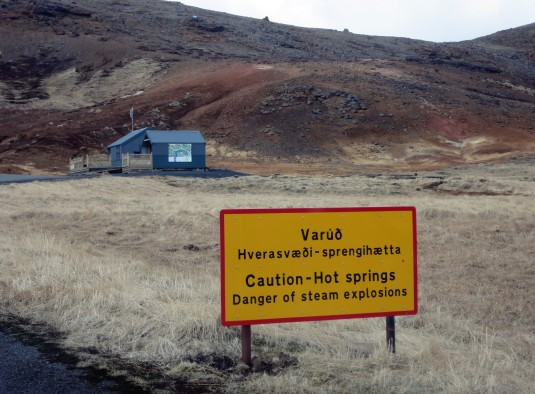 Seltun geothermal field Iceland