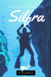 scuba diving in Silfra Iceland