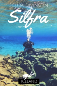 scuba diving in Silfra Iceland