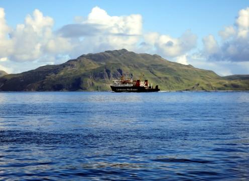 Ferry Sound of Mull Scotland