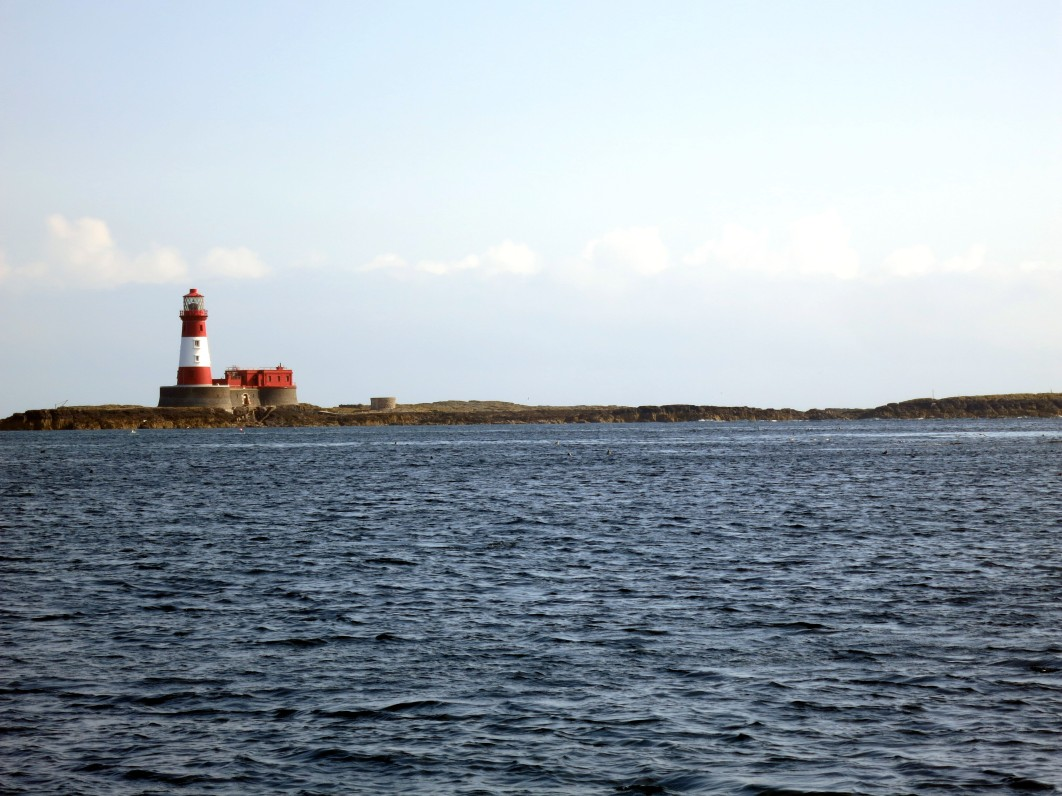 Longstone Lighthouse Farne Islands England UK
