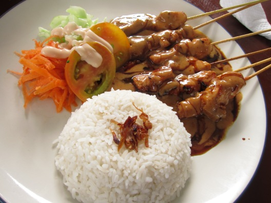 Ayam Sate Delicious food in Amed Bali Indonesia