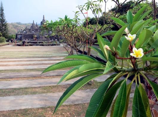 Banjar Buddhist temple Bali Indonesia
