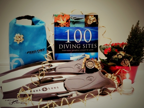 Christmas Xmas gift ideas for scuba divers 2015
