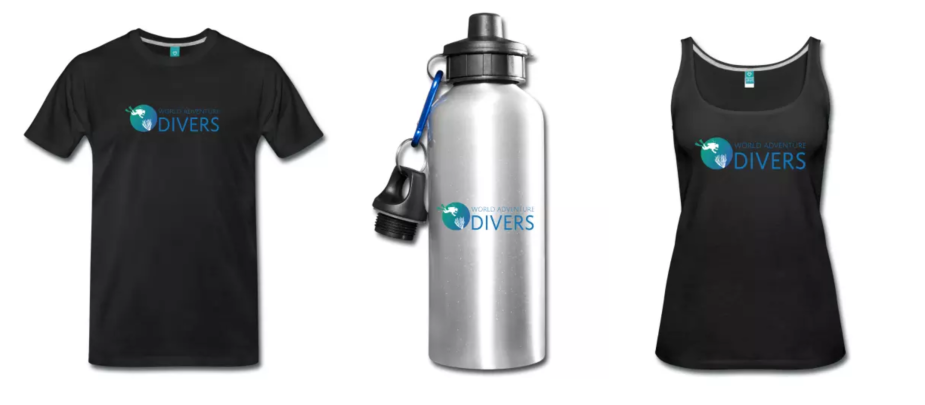 World Adventure Divers eshop spreadshirt