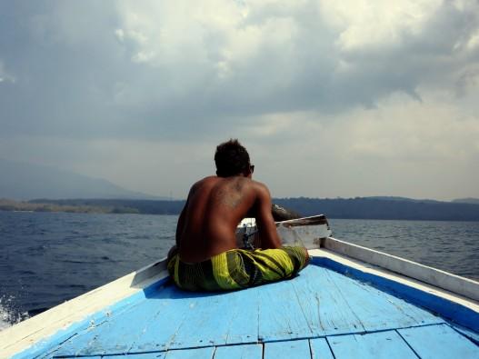boat Menjangan Island Bali Indonesia