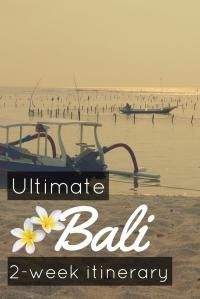 Ultimate Bali 2 week scuba diving road trip itinerary