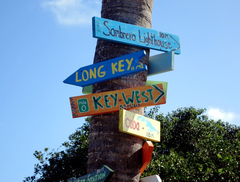 Roadsigns Florida Keys Curry Hammock State Park