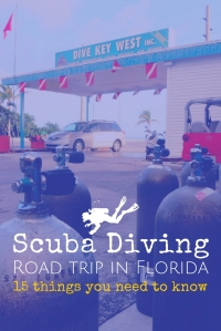 15 things you need to know for a Scuba diving Road trip in Florida USA