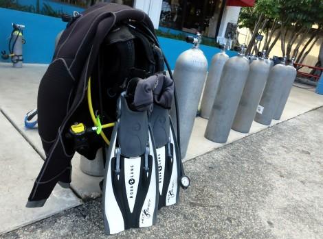 scuba diving gear Key West Florida