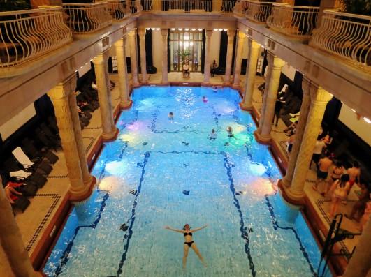Gellert Baths Budapest Hungary