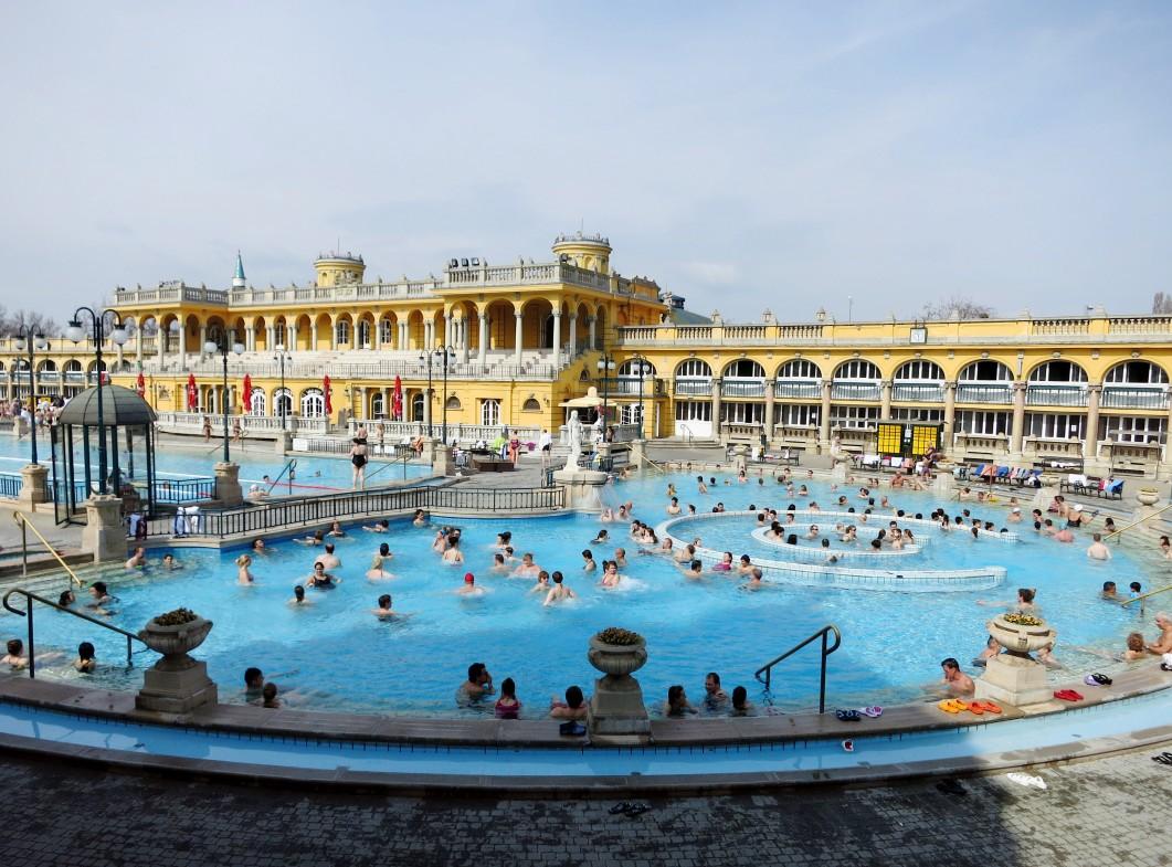 Széchenyi Baths Budapest Hungary