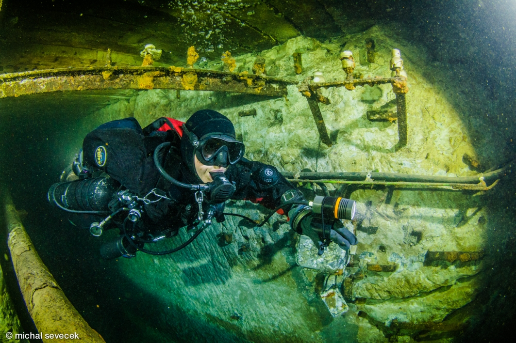 Scuba diving Kobanya Budapest Hungary credit Michal Sevecek