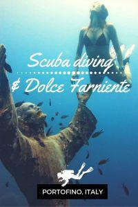Scuba diving Dolce Farniente Portofino Italy